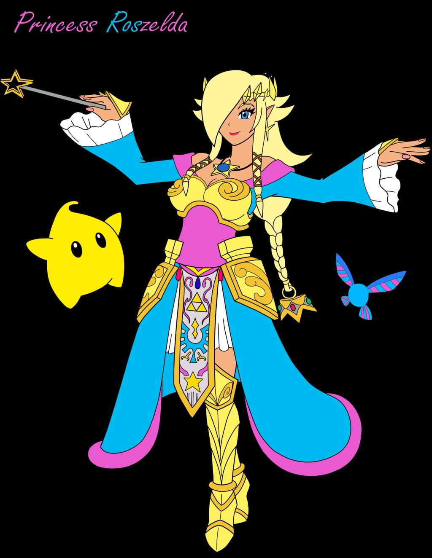 Crazy fusion princess roszelda. Starwars clipart c3p0