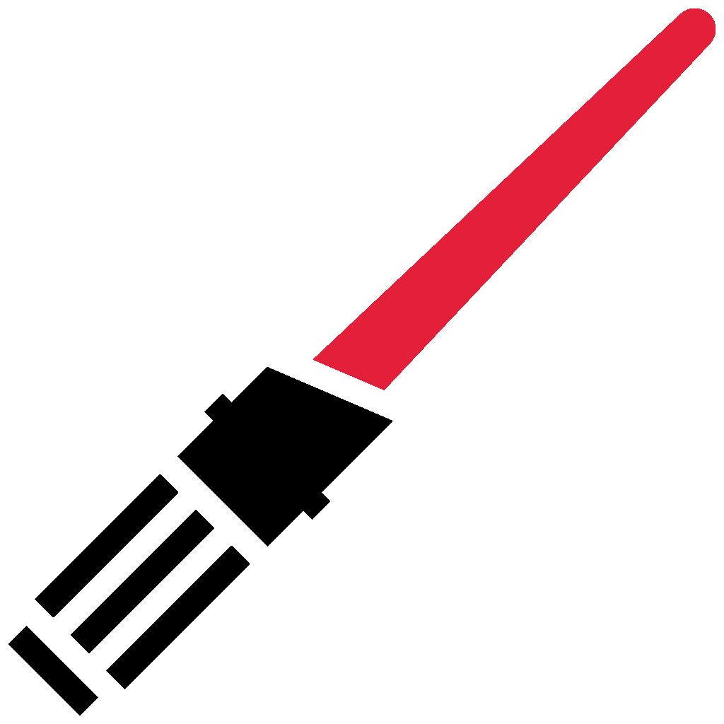 Lightsaber clip art . Starwars clipart light saber