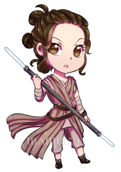 Chibi star wars pinterest. Starwars clipart rey