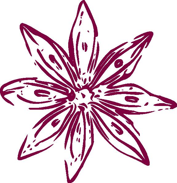 Lily outline clip art. Purple clipart calla lilies