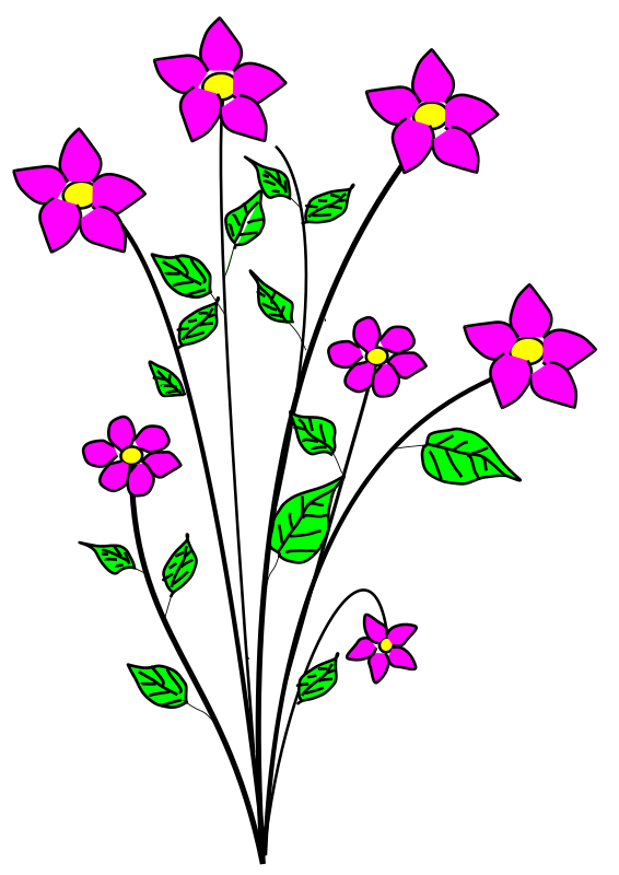 lily clipart sympathy flower