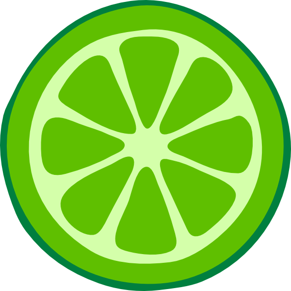 Lime clipart. Slice clip art at