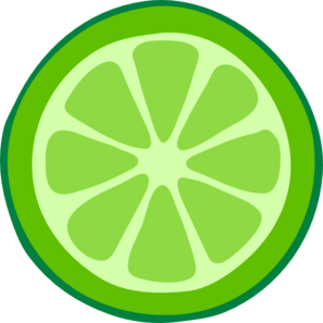 Slices . Lime clipart