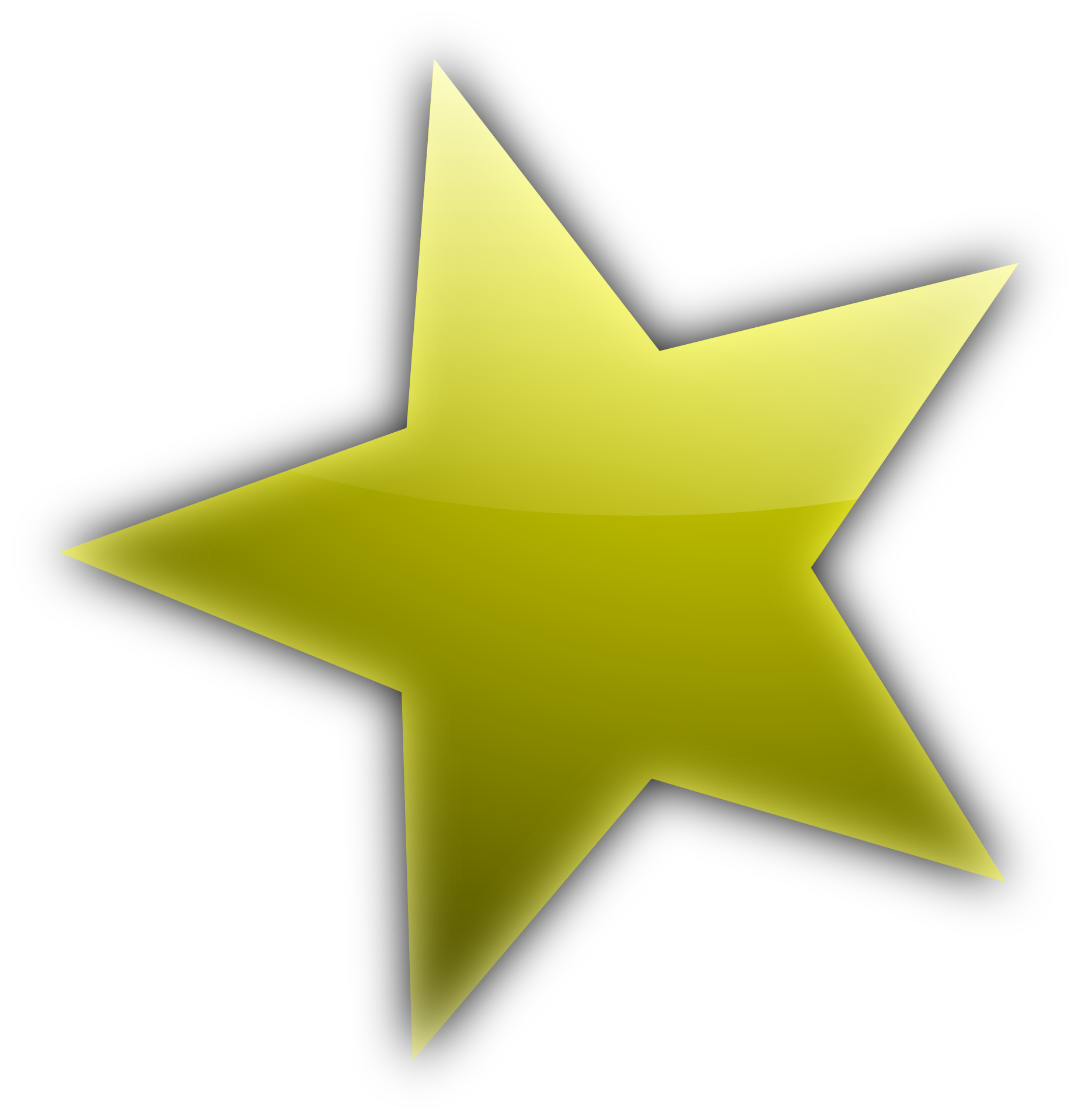 Pointing clipart star shape, Pointing star shape ...
