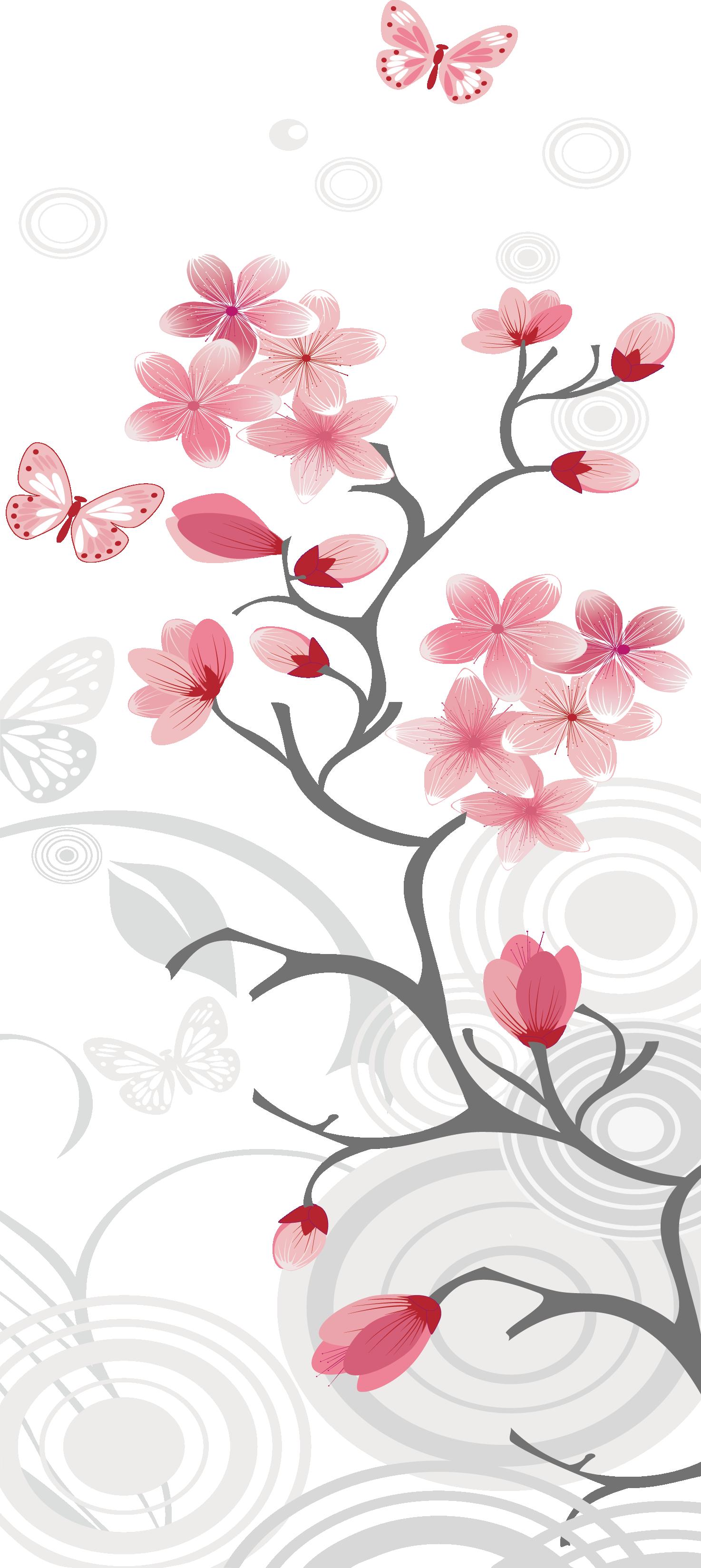 Mango clipart cherry. Blossom clip art japanese