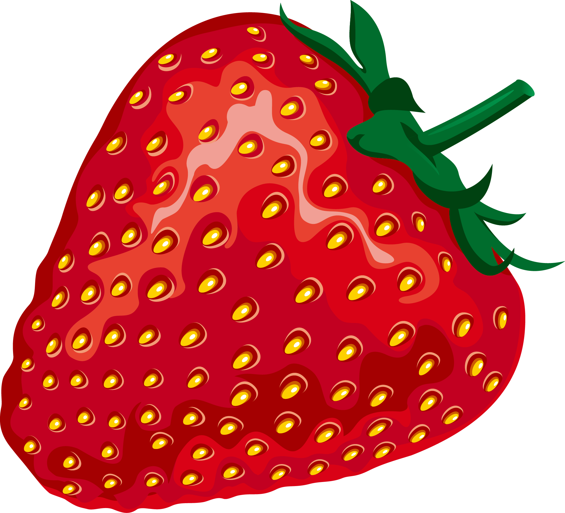 Watermelon clipart strawberry. Fruit red aedmaasikas elements