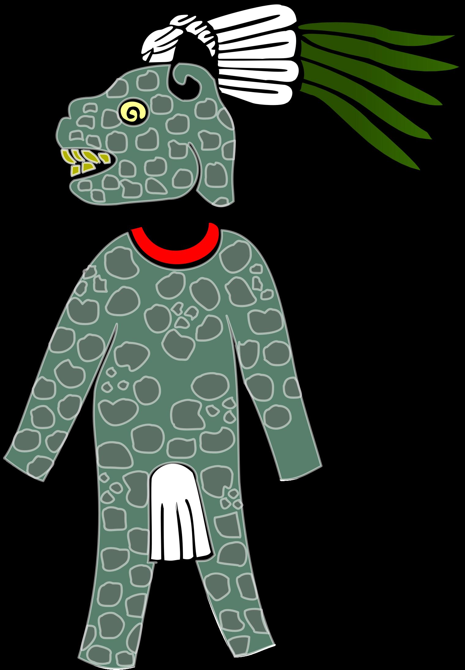 Warrior clipart guerrero. Armor aztec armadura azteca