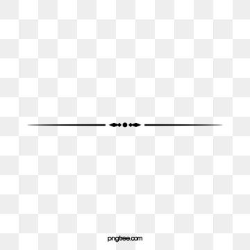 Simple png images vector. Line clipart dividing line