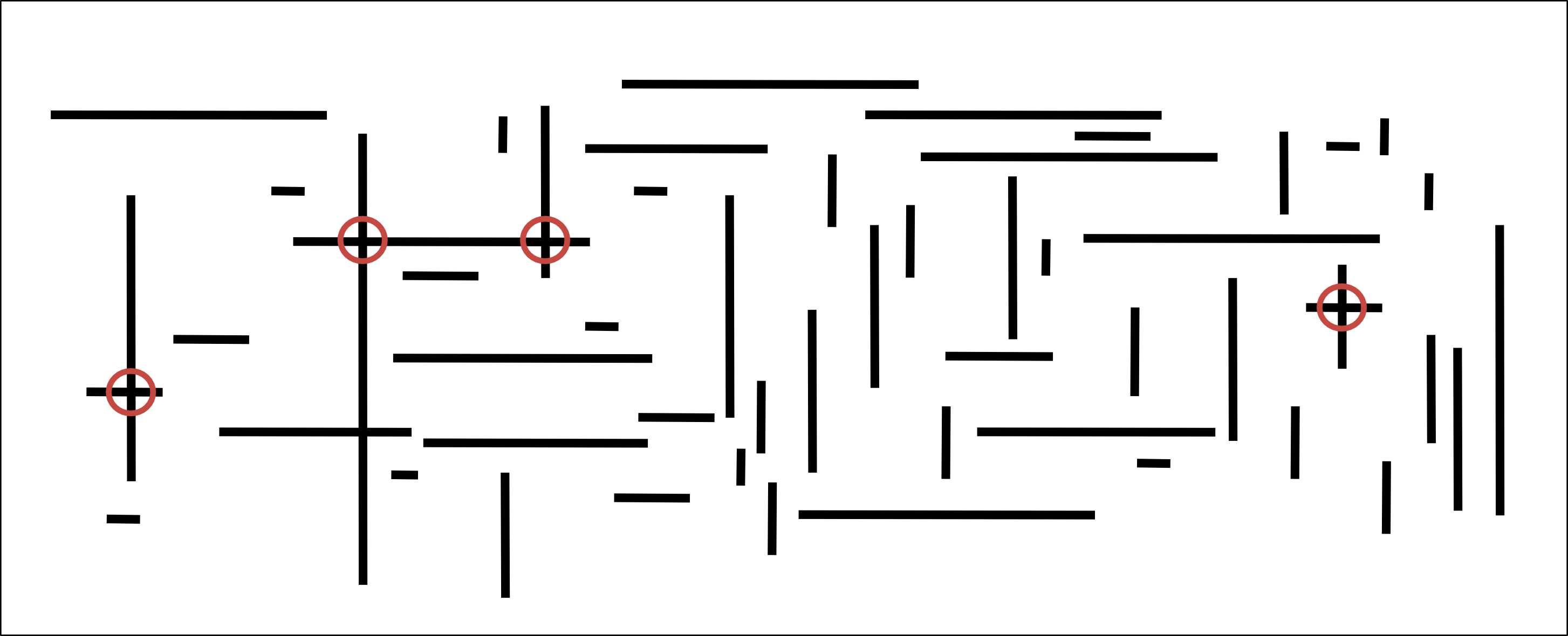 Geometric applications of bsts. Line clipart line segment