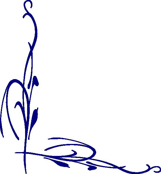 Navy clipart line. Blue vine clip art