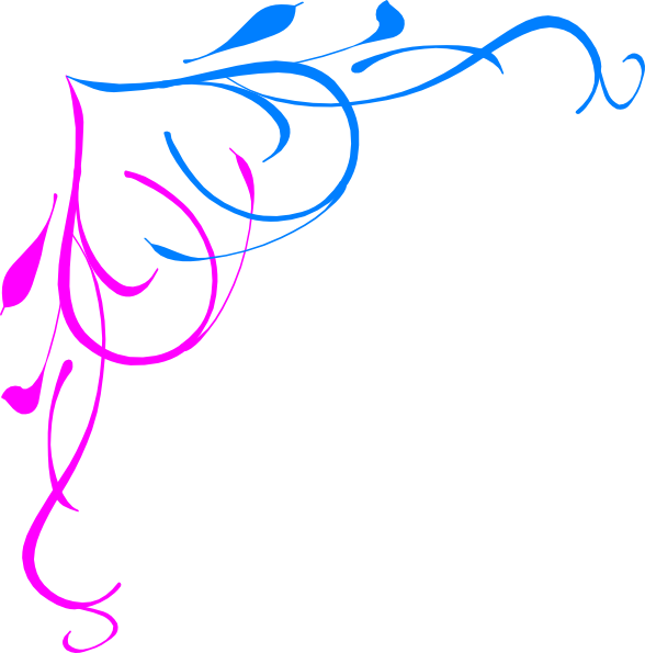 lines clipart pink