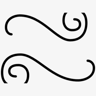 Scroll clipart line. French art free