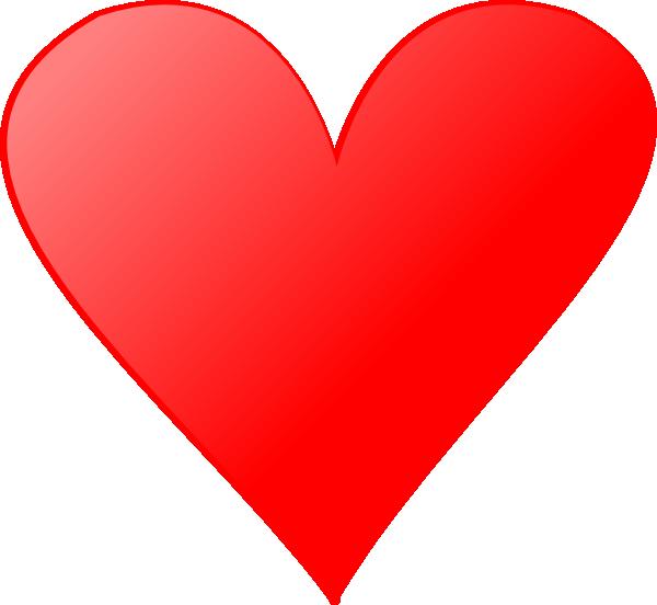 Heart clip art at. Line clipart single