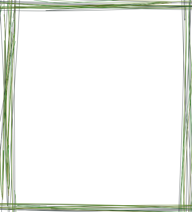 Line frame png. Green by jessicaj on