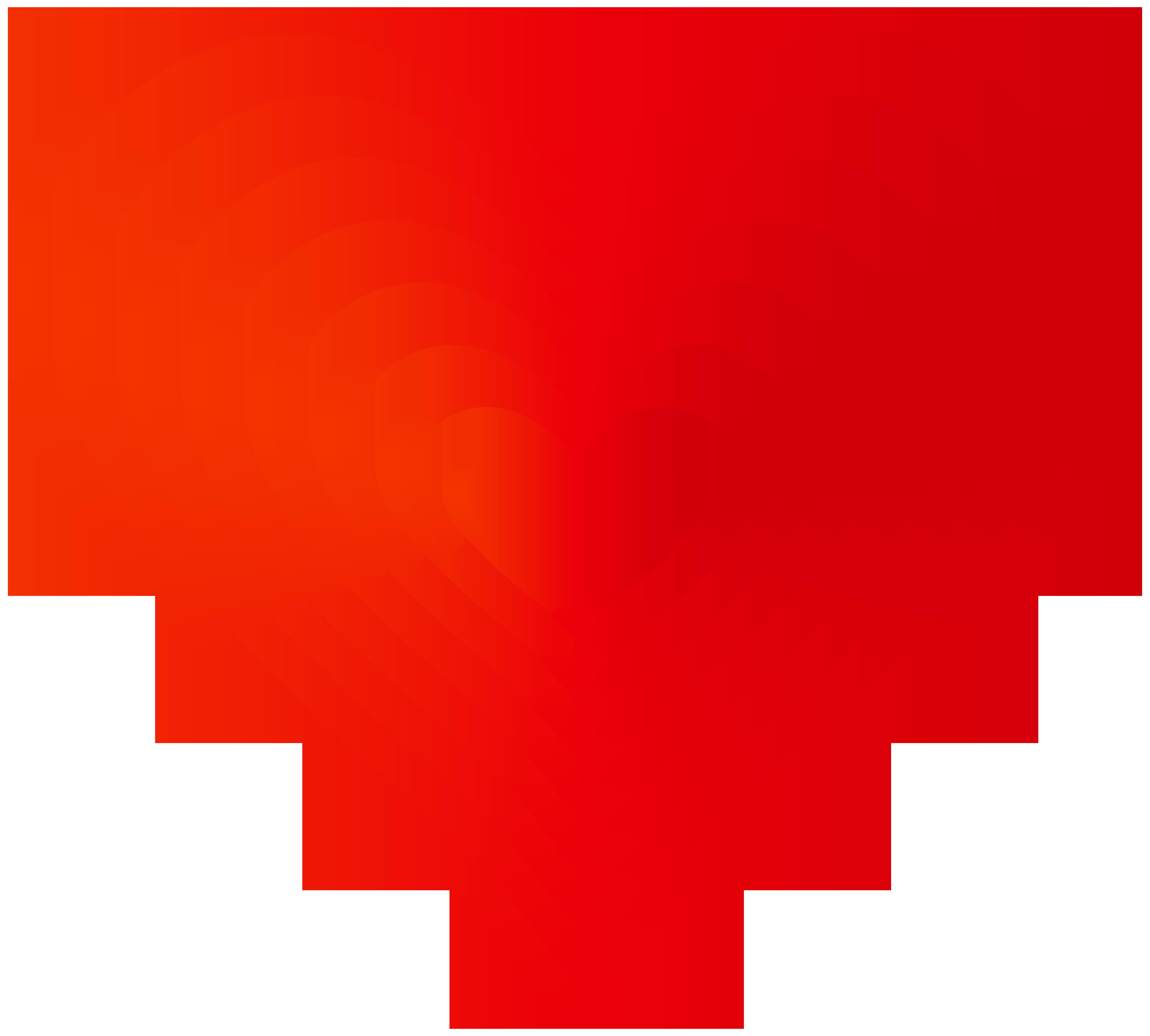 Line of hearts png. Heart decorative transparent clip