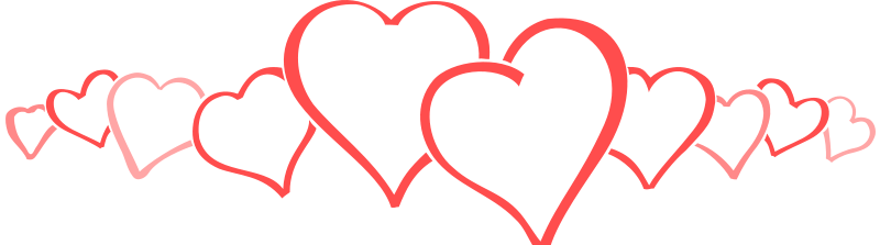 Line of hearts png. Image row community central