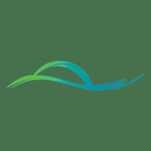 Line vector png. Wave lines logo transparent