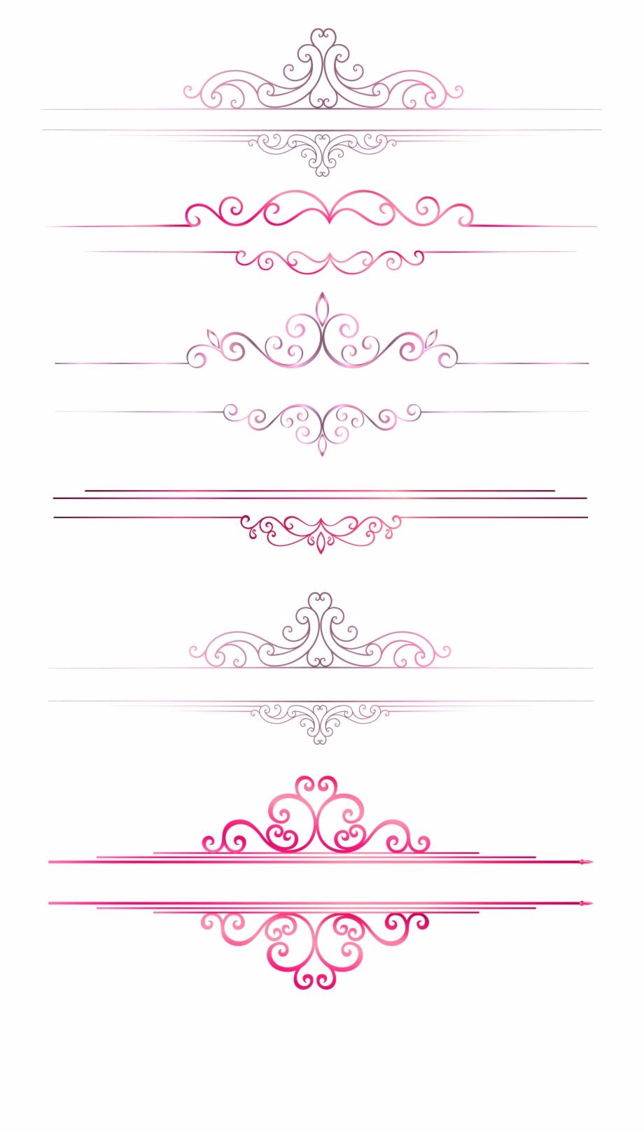 Pattern border columns european. Lines clipart dividing line