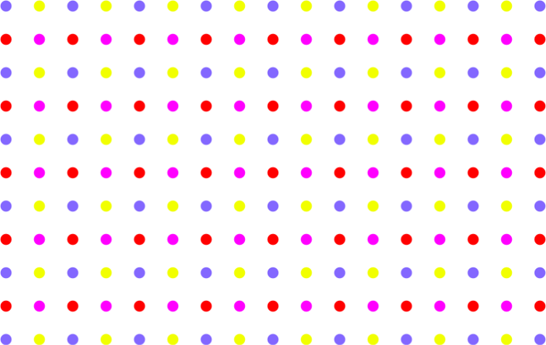 Lines clipart polka dot. Seamless colorful sparse pattern
