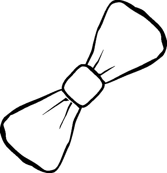 White clipart bowtie. Clip art at clker