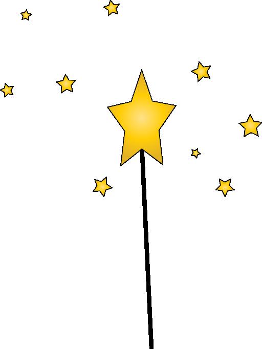 Magic clipart gold. Shooting star magical free