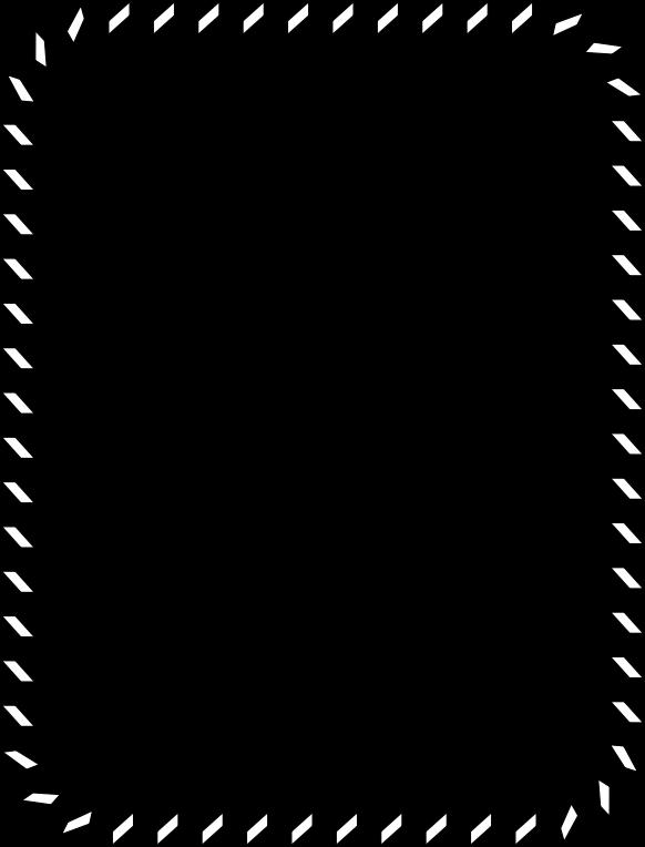 Lines clipart zigzag. Border medium image png