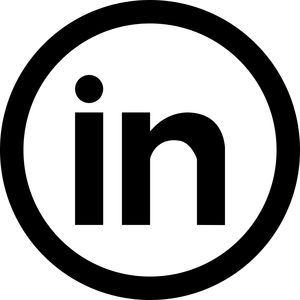 Social svg free download. Linkedin icon png