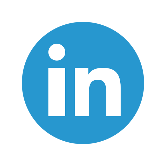 Linkedin icon png. Color linked in and