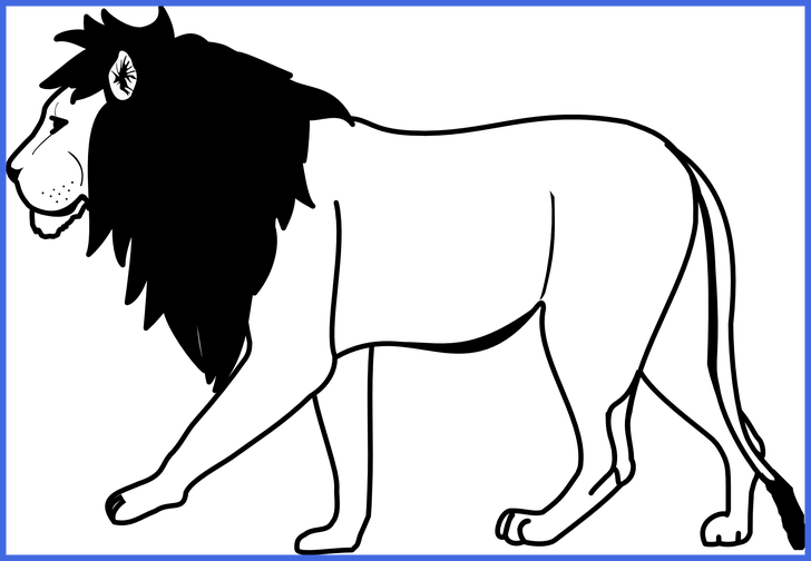 ideas of black. Lion clipart african lion
