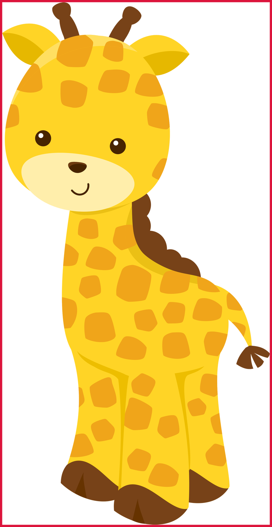 Lion clipart giraffe. The best photo by