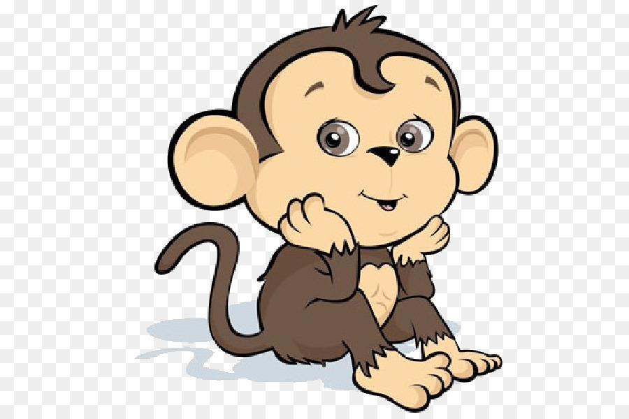 Monkey clipart lion. Drawing png download free
