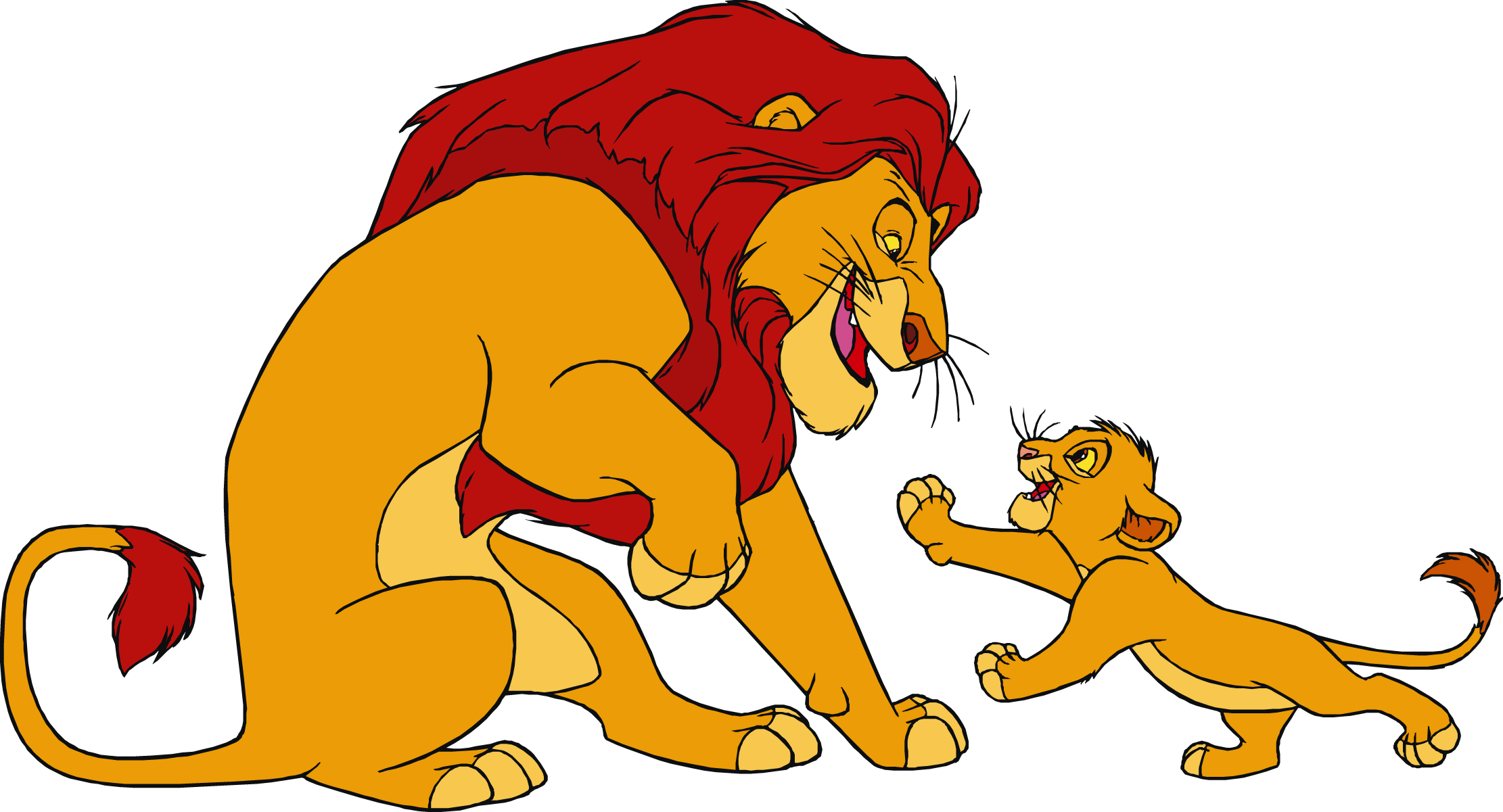 Lion mufasa frames illustrations. Young clipart simba cub
