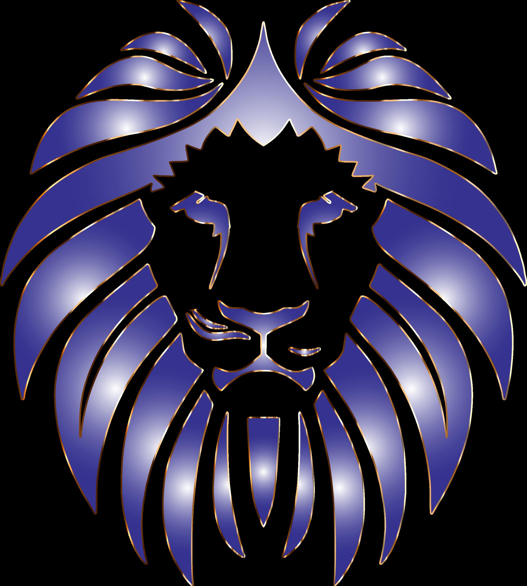 Prismatic no background big. Purple clipart lion