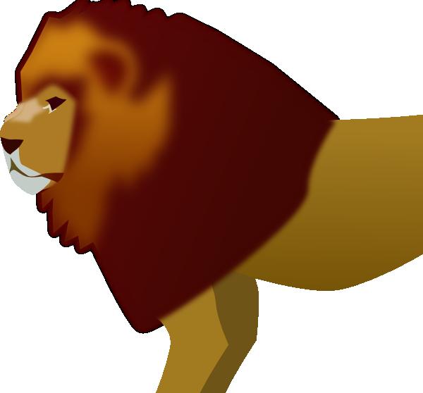 Monkey clipart lion. Clip art at clker