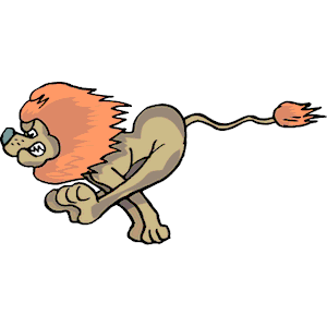 Free running cliparts download. Lion clipart run