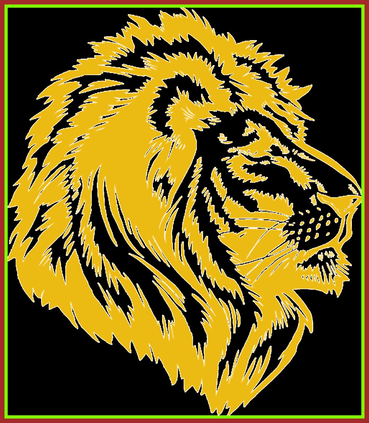 Lion clipart shield. Incredible best logo head