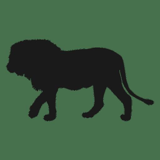 Lion vector png. Silhouette transparent svg