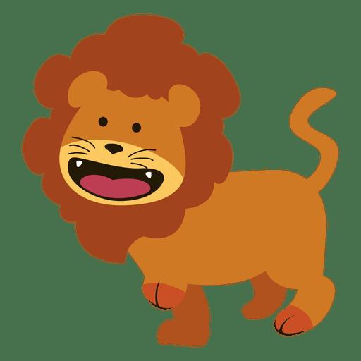 Cartoon transparent svg. Lion vector png