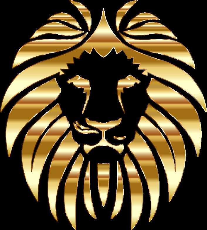 No background art leo. Lions clipart golden lion