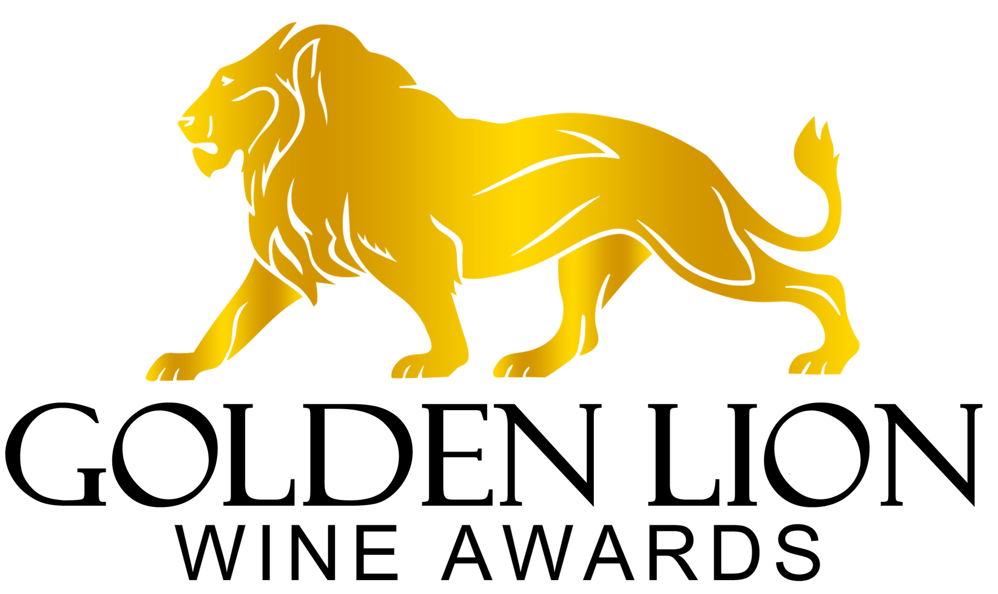 Gold tubes horse and. Lions clipart golden lion