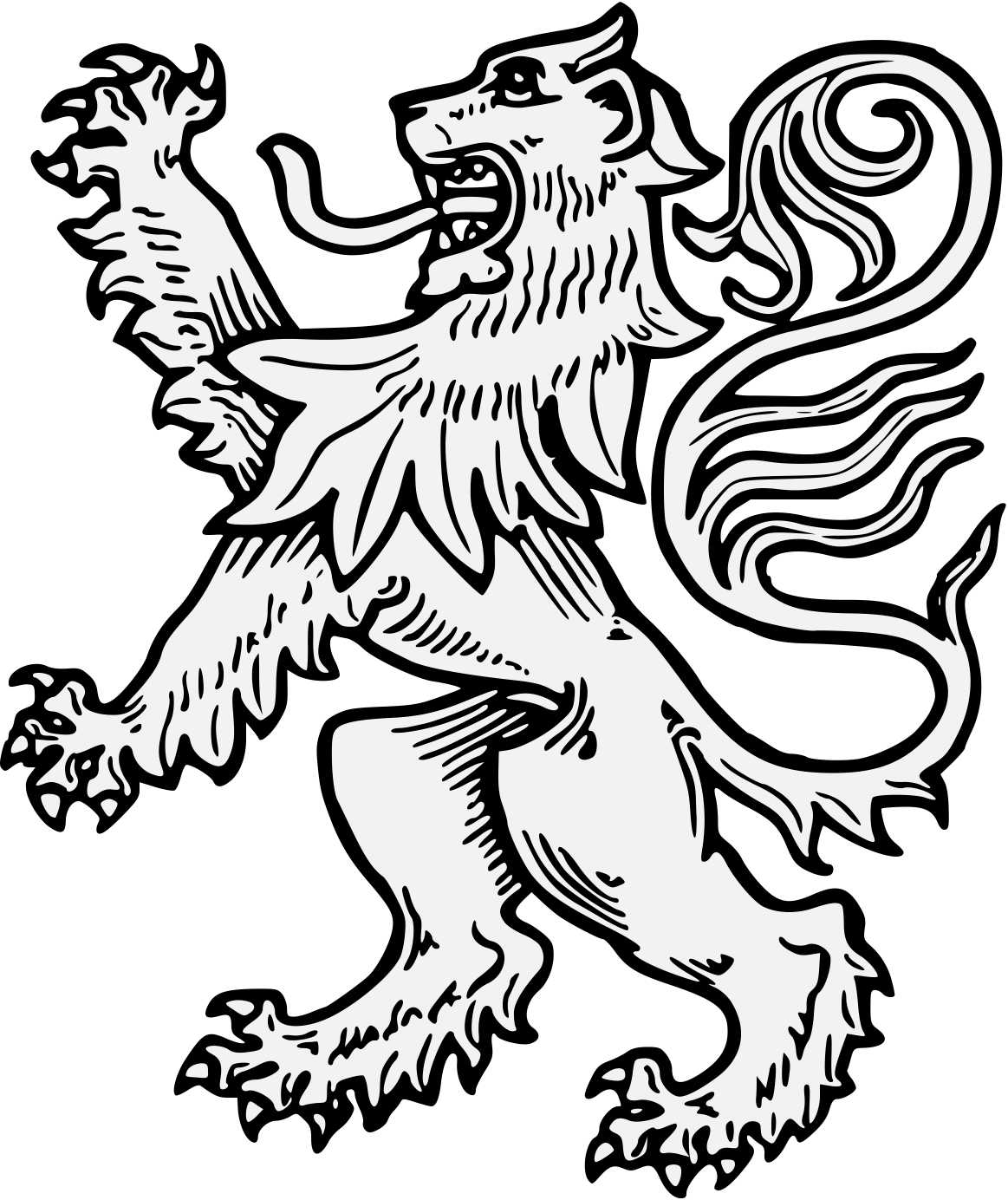 Lions clipart open mouth. Lion drawing at getdrawings
