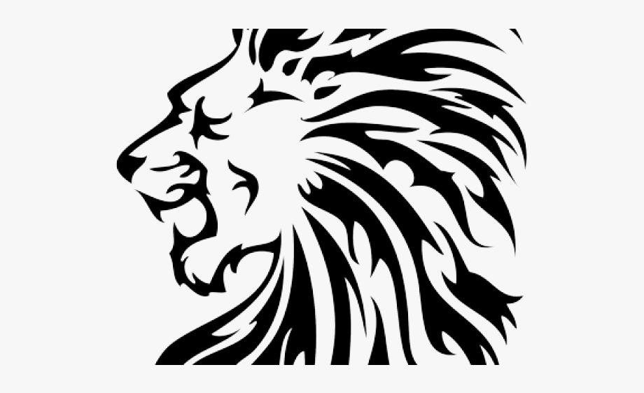 Lions clipart simple. Lion tattoo flag sri