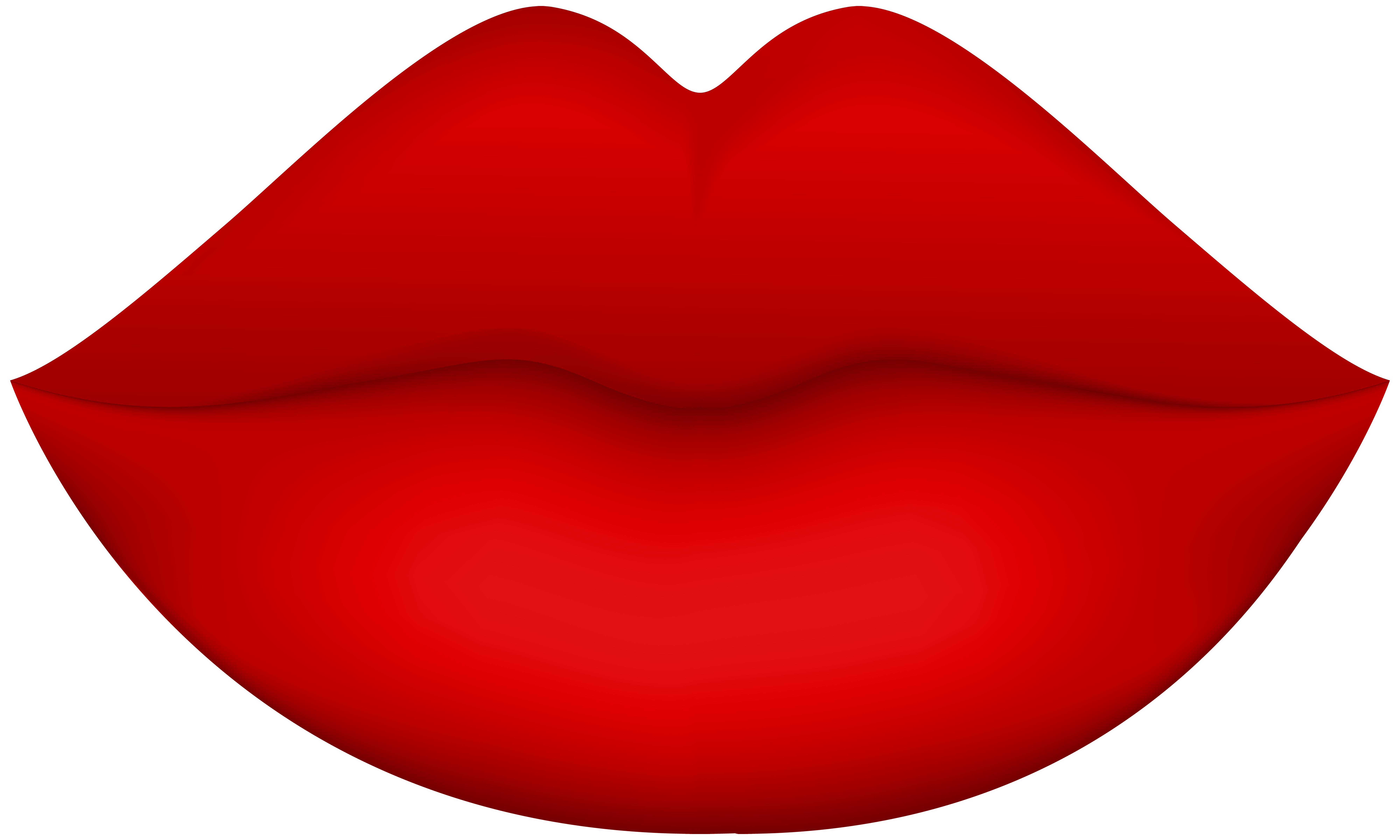 Lip clipart. Female red lips png