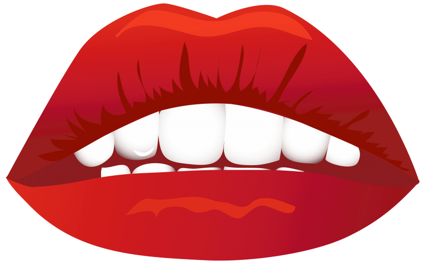 Lips image png free. Lip clipart bite