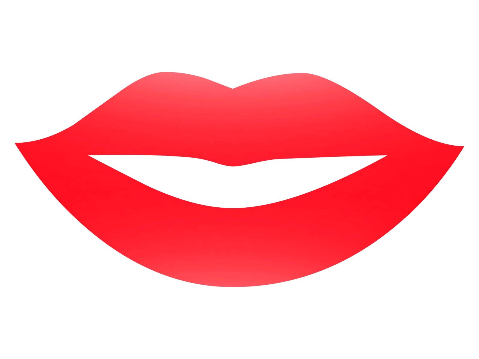 Lip clipart boy lip. Boys lips smiling no