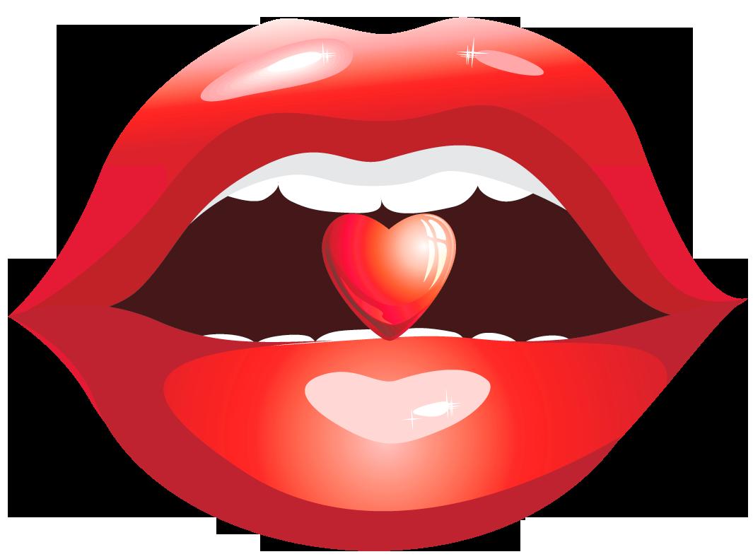 Lip clip art red. Lips clipart nose