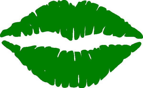 Lips clipart green lip. Thats neat stencil clip