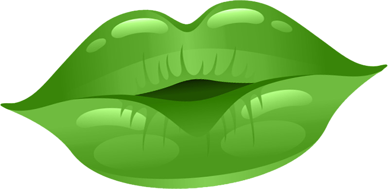 Free on dumielauxepices net. Lips clipart green lip