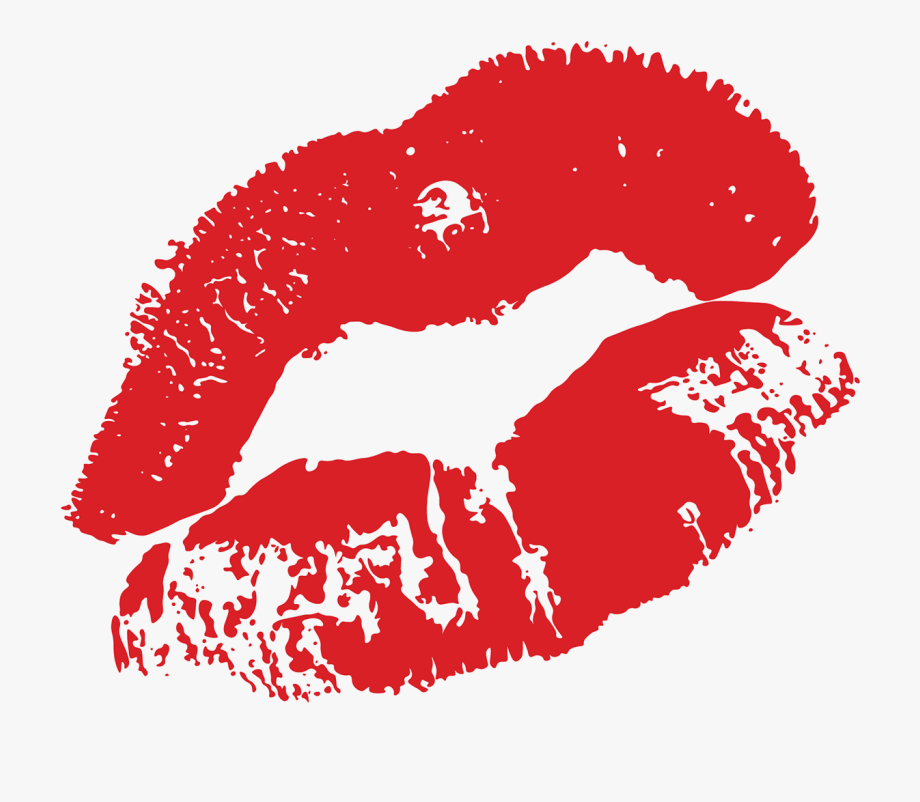 Full lip free cliparts. Lips clipart illustration