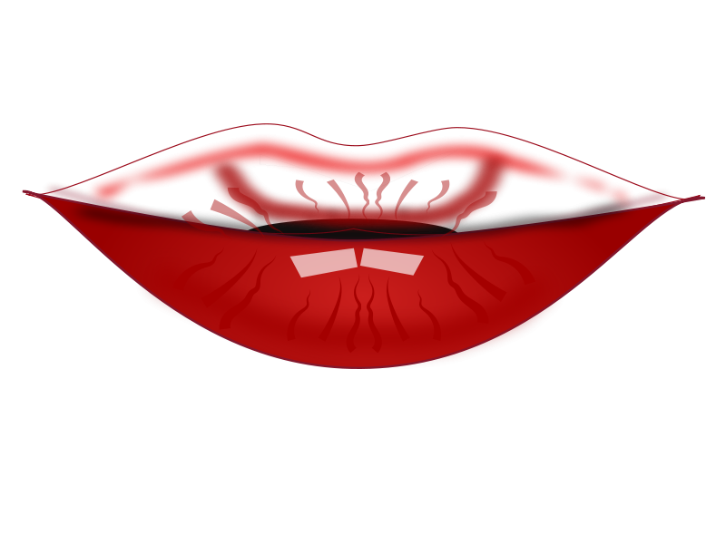 Lip clipart lip balm. Free cartoon pictures download